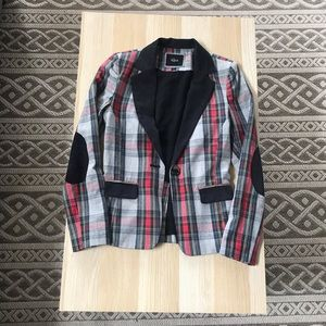 Rails Plaid Blazer